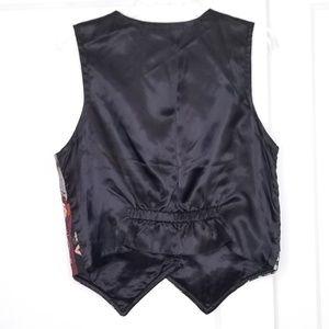 Vintage Jackets & Coats - Vintage 90s Roaring 20s Flapper Vest